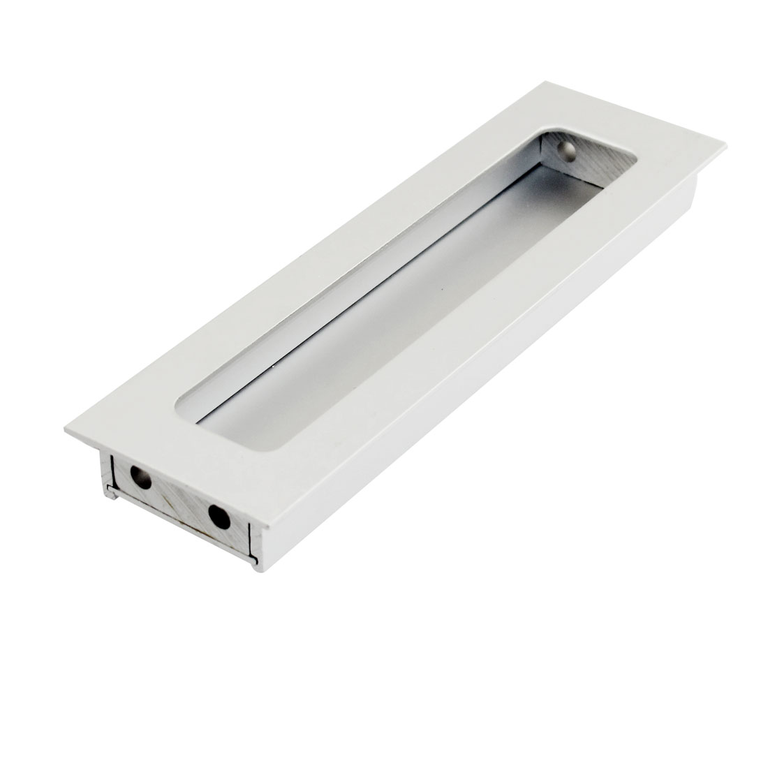 Rectangle 14.5cm Length Flush Pull Door Handle for Drawer Cabinet