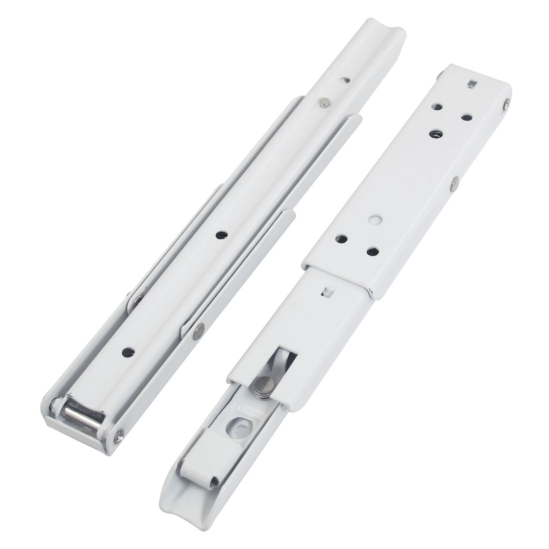 "Stainless Steel 90 Degree Angle 10"" Height Bracket White 2 Pcs"