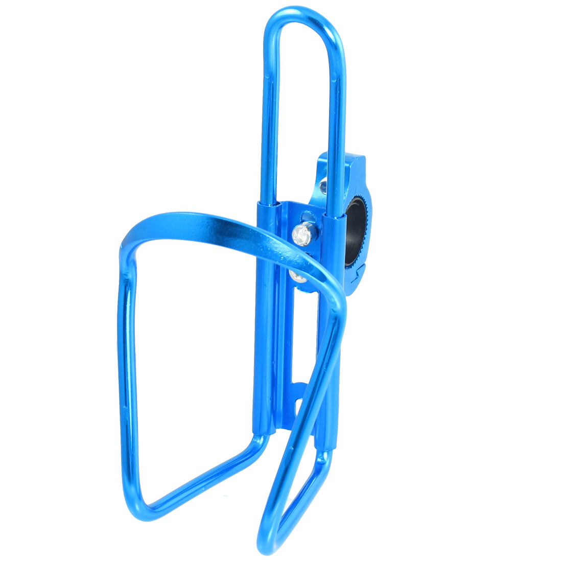 Sky Blue Aluminum Alloy Drink Water Bottle Holder Rack for Bike