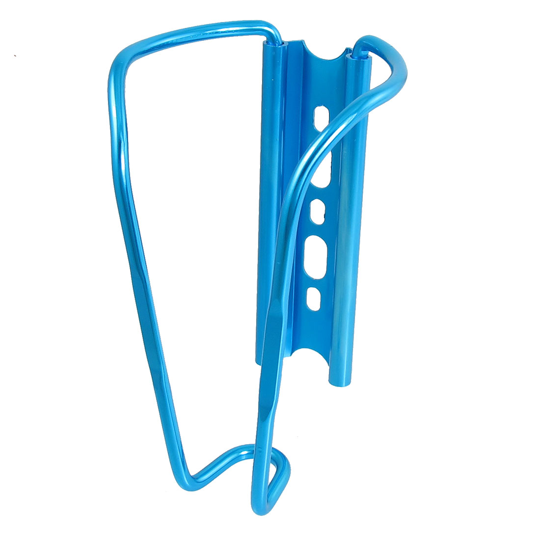 Sky Blue Aluminum Alloy Drink Water Bottle Holder Bracket for Bike Bicycle