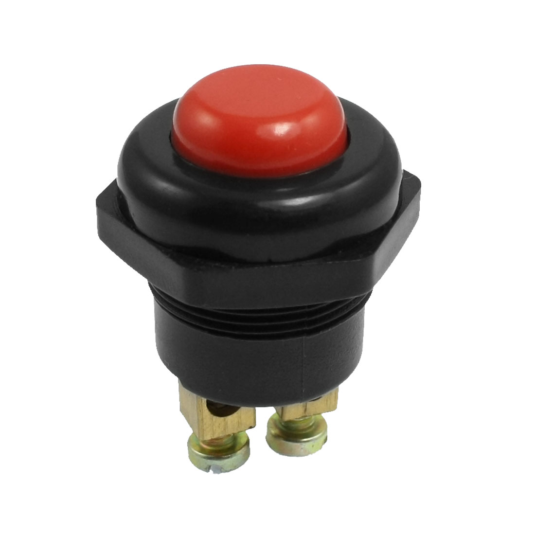 Round Top Boat Auto Car Momentary Push Button Switch DC 12V