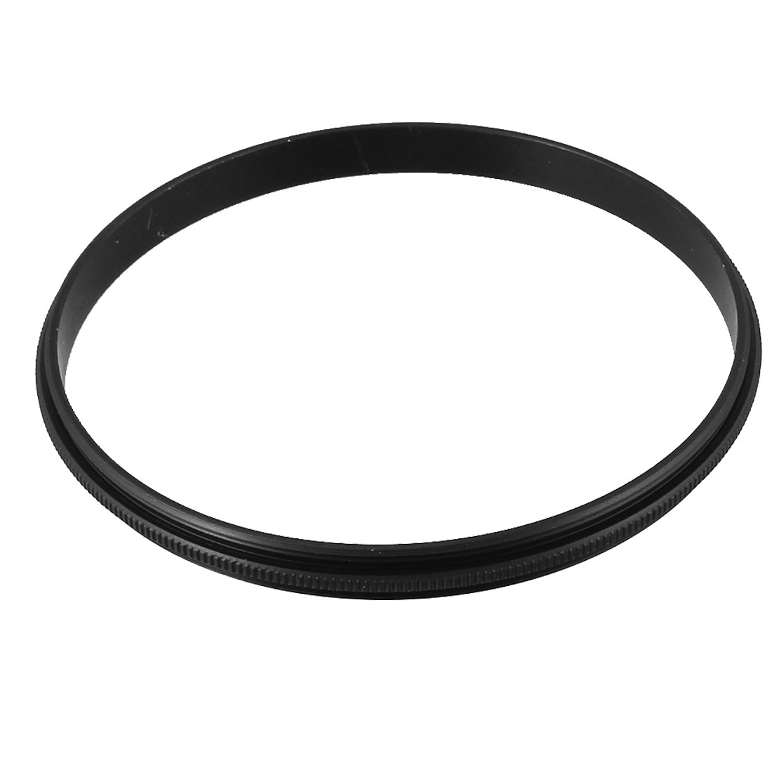 77mm-77mm 77mm to 77mm Male to Male Step Ring Adapter Black for Camera