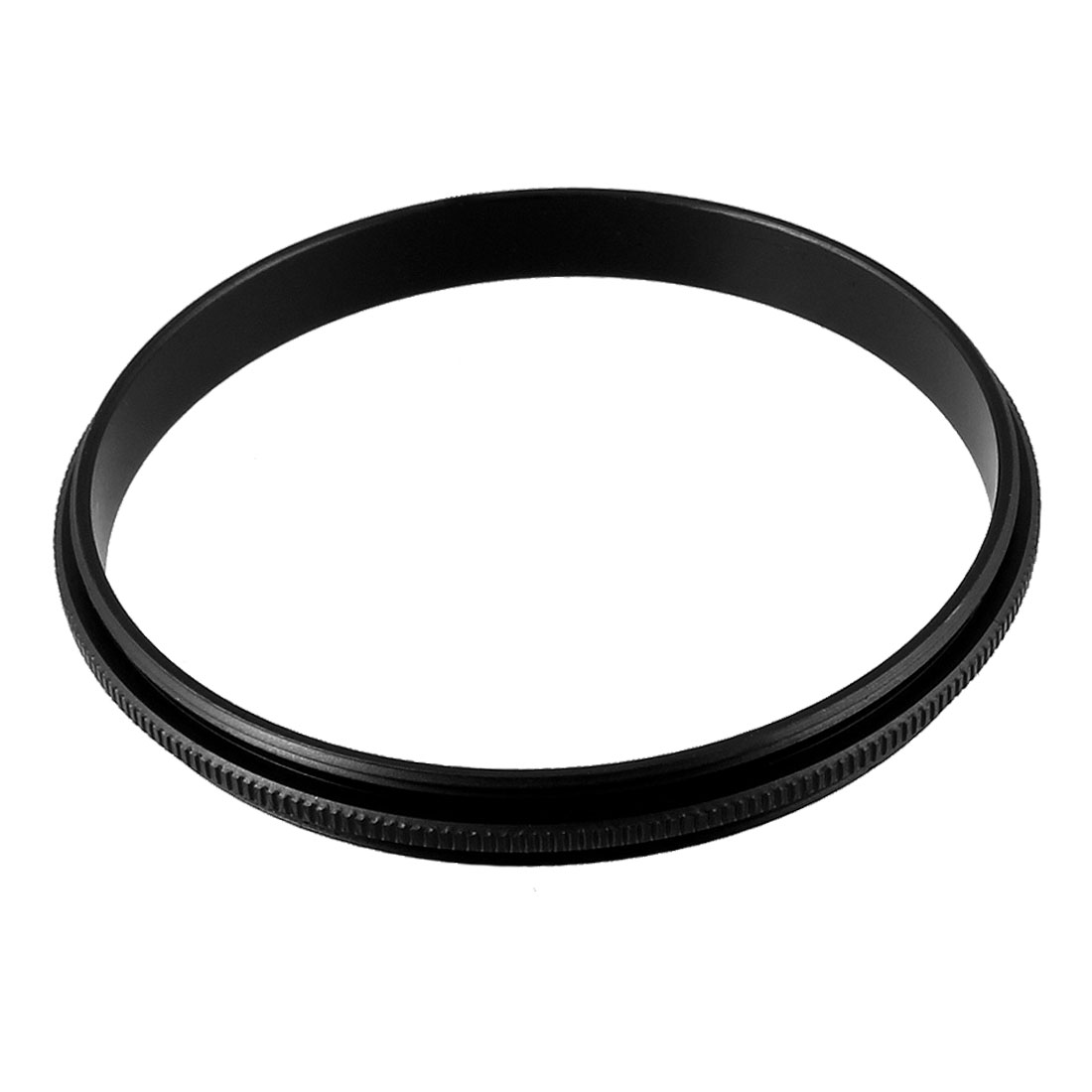 58mm Male to Male Metal Step Ring Adapter Black for Camera