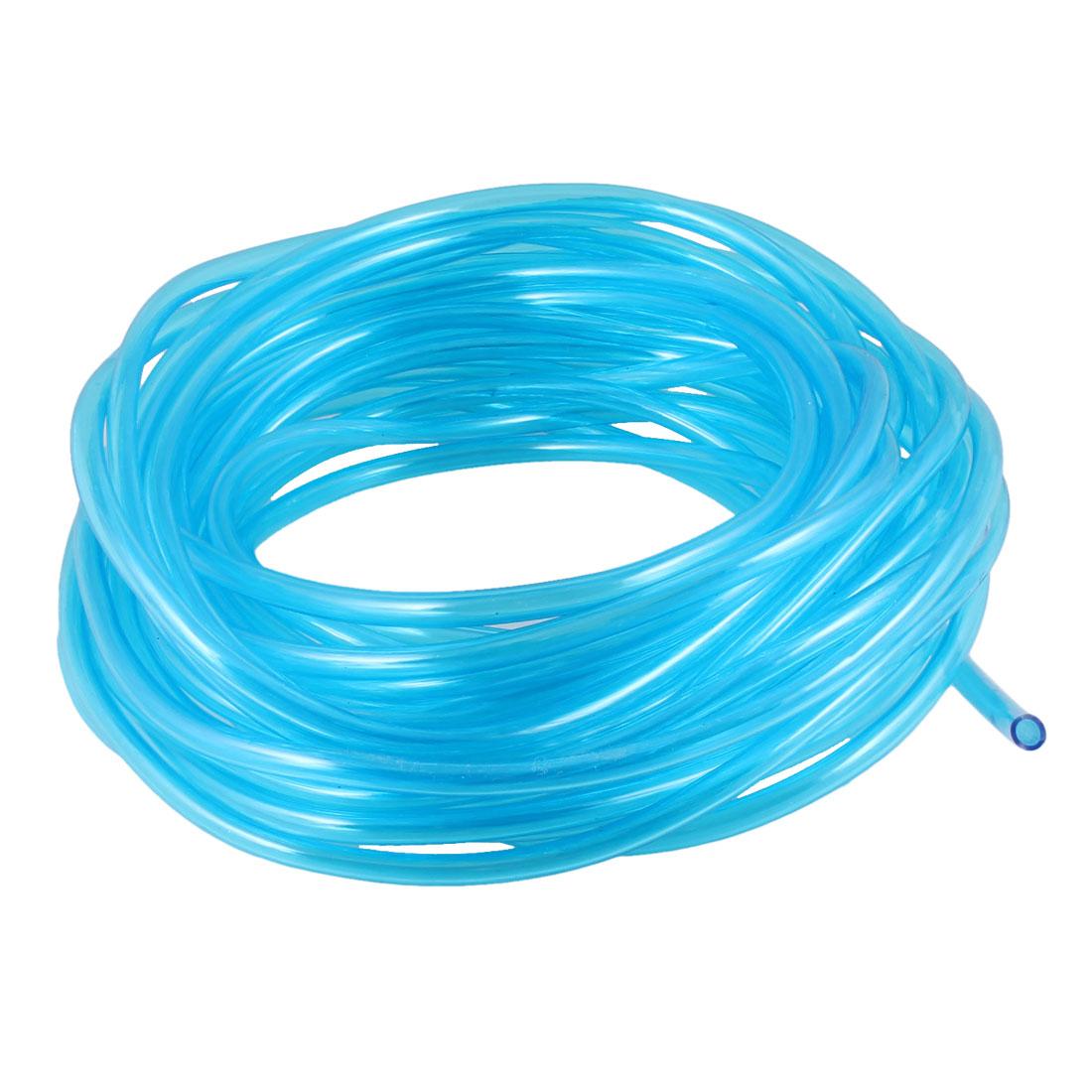 Aquarium Clear Blue Soft Polyurethane PU Oxygen Pipe 10M Long