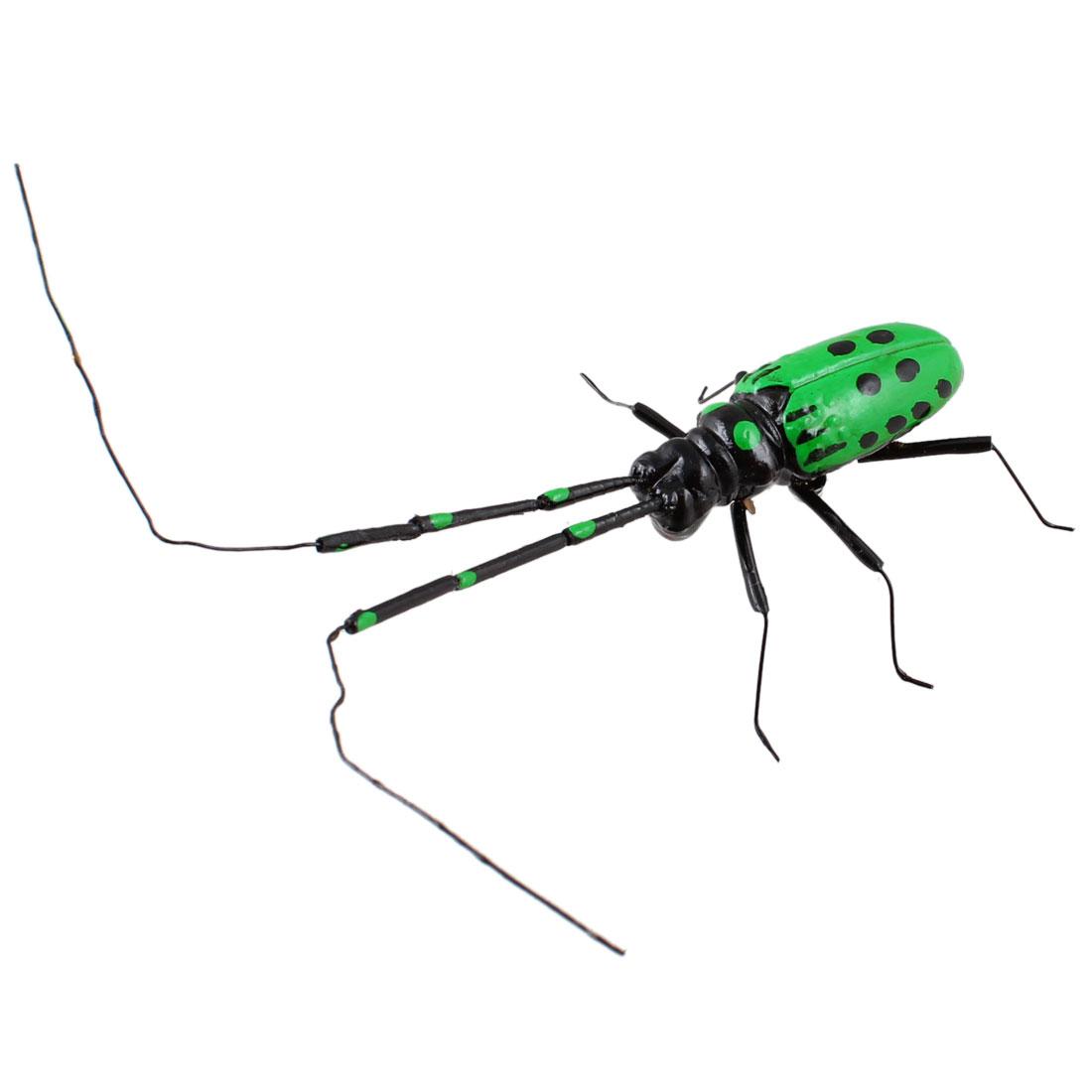 Refrigerator Fridge Decor Green Plastic Cicada Design Magnetic Sticker