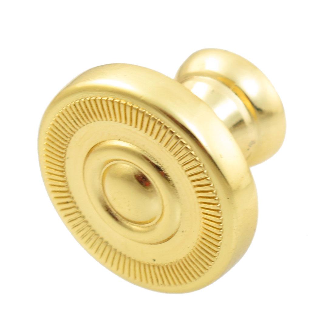 Vintage Gold Tone Drawer Dresser Cabinet Round Knob Pull Handle 2.5cm