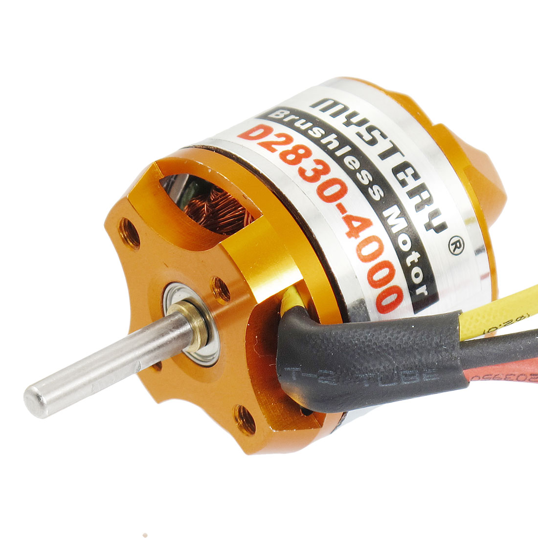 D2830-4000KV Outrunner Brushless Motor for RC Glider Helicopter Aircraft