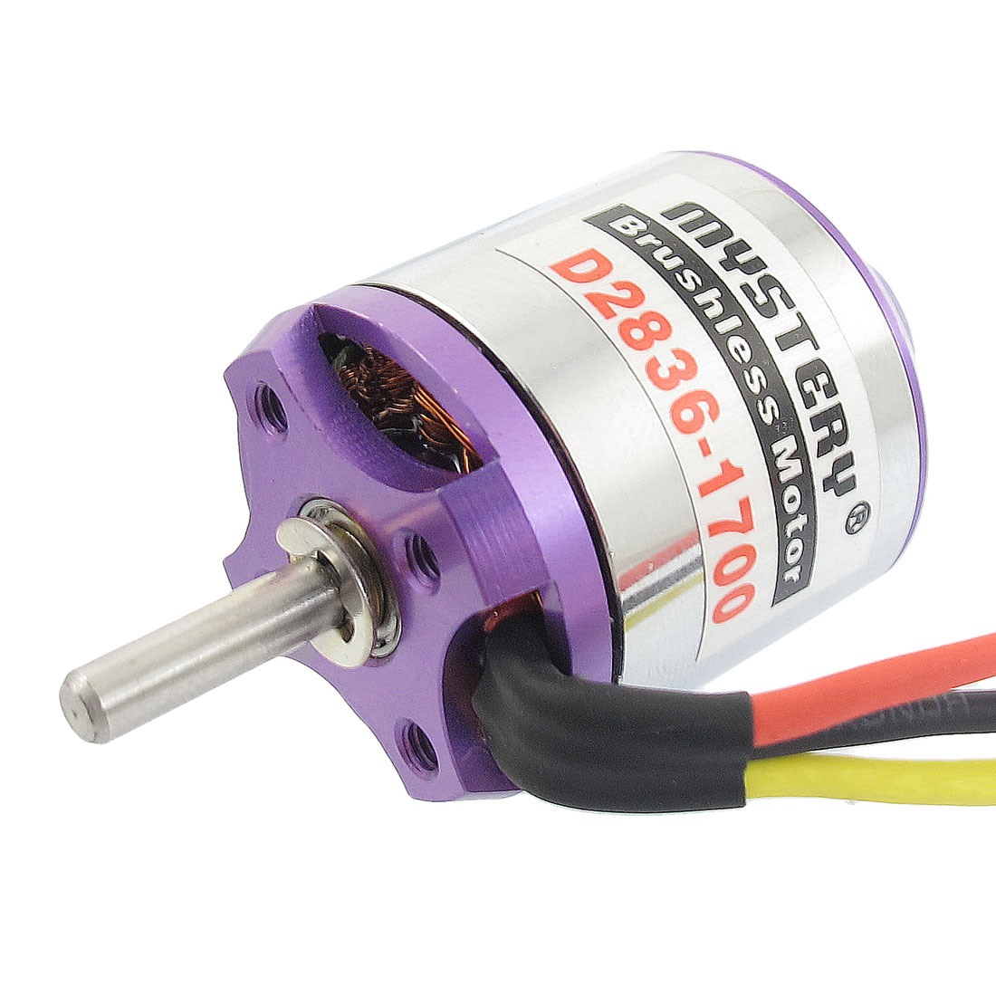 D2836 1700KV Outrunner Brushless Motor for RC Glider Aircraft