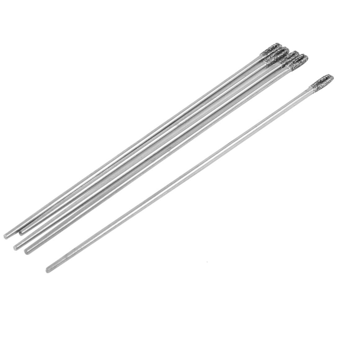 Tailor 1mm Diameter Flat Tip Metal Sewing Needles 5 Pcs