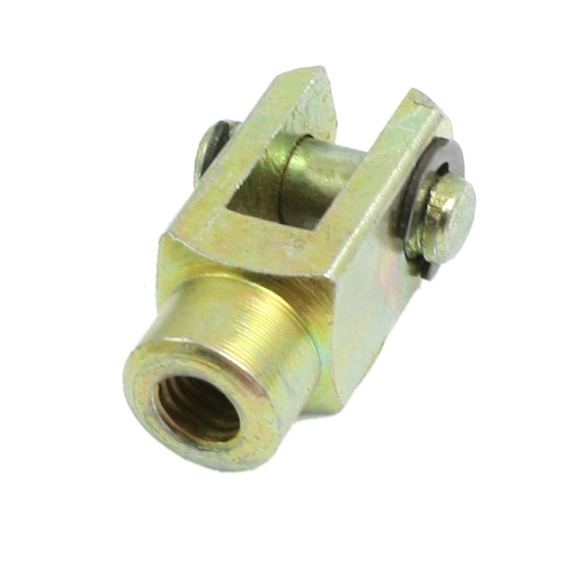 M6 6mm Female Thread Metal Y Joint Pneumatic Cylinder Piston Rod Clevis