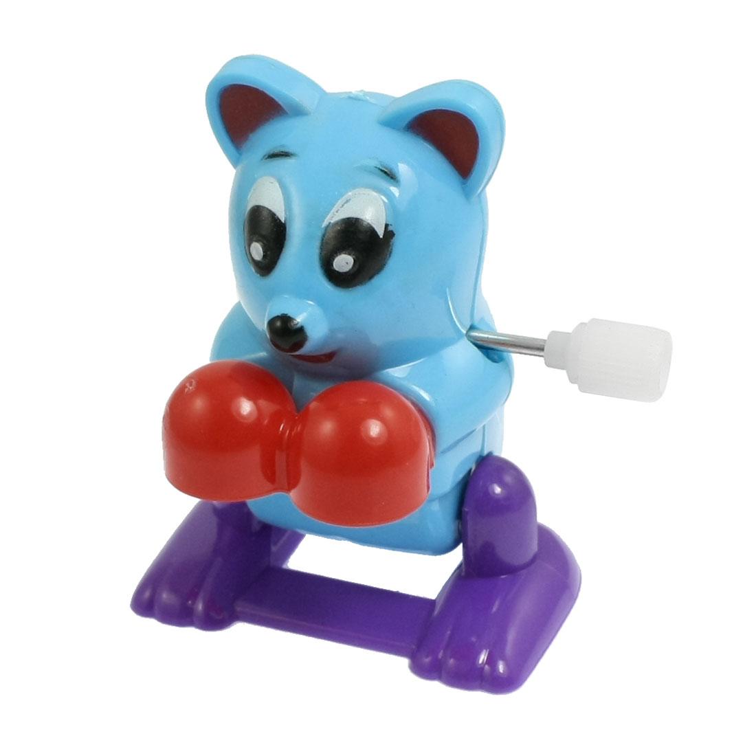 Blue Red Purple Plastic Rat Shape Wind Up Clockwork Toy for Children