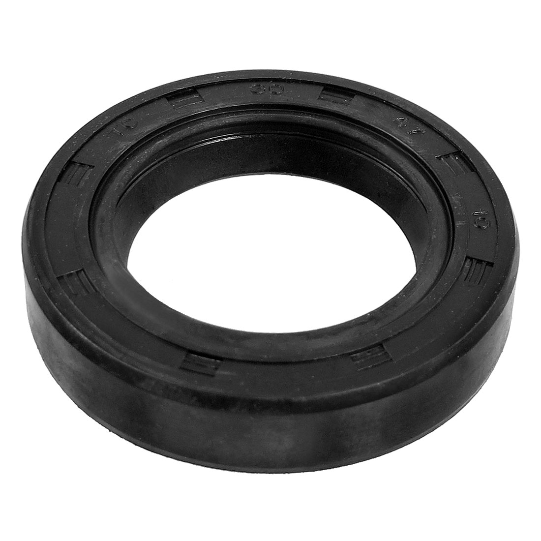 Steel Spring NBR Double Lip TC Oil Seal Black 30mm x 47mm x 10mm