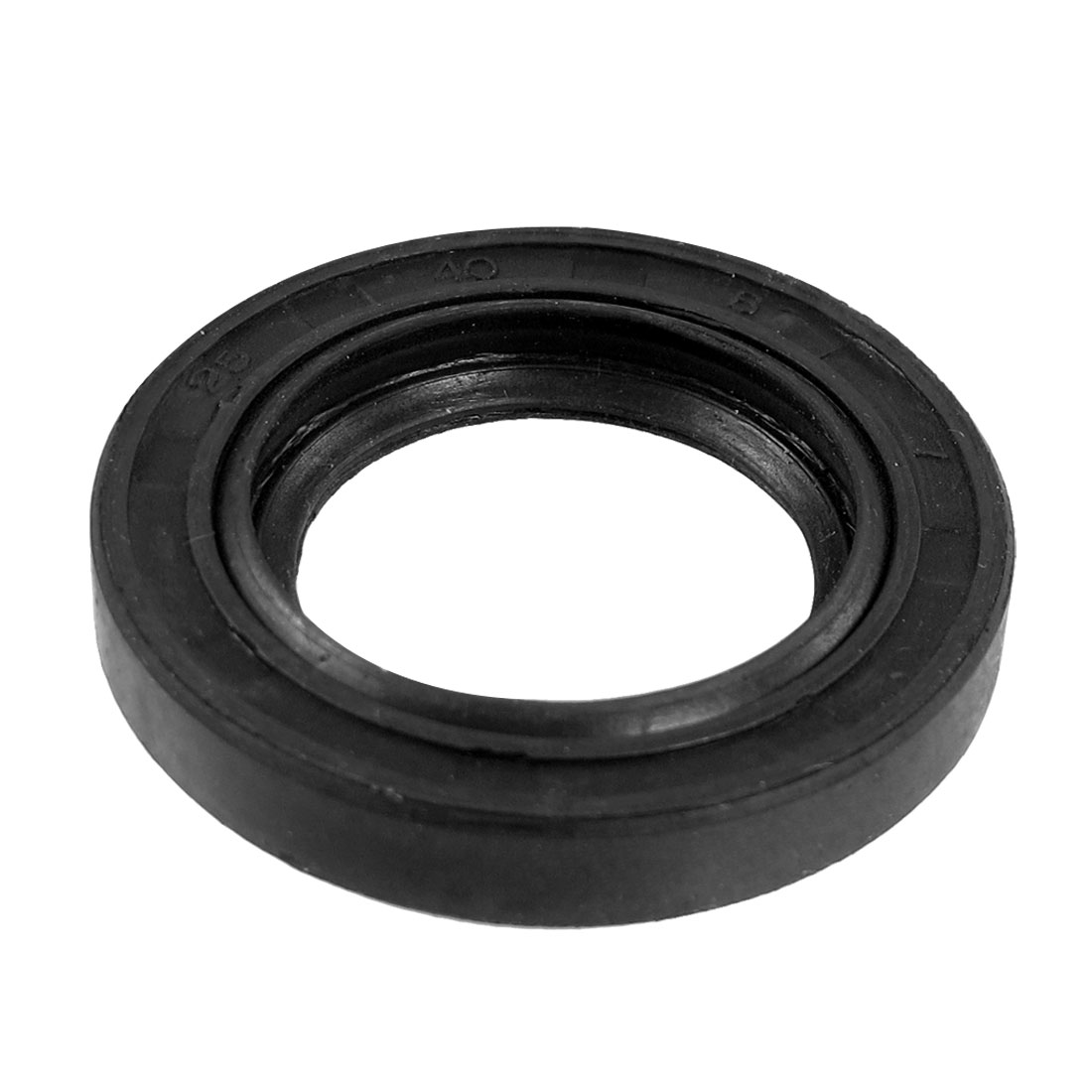 Black Nitrile Rubber Dual Lips Oil Shaft Seal TC 25mm x 40mm x 7mm