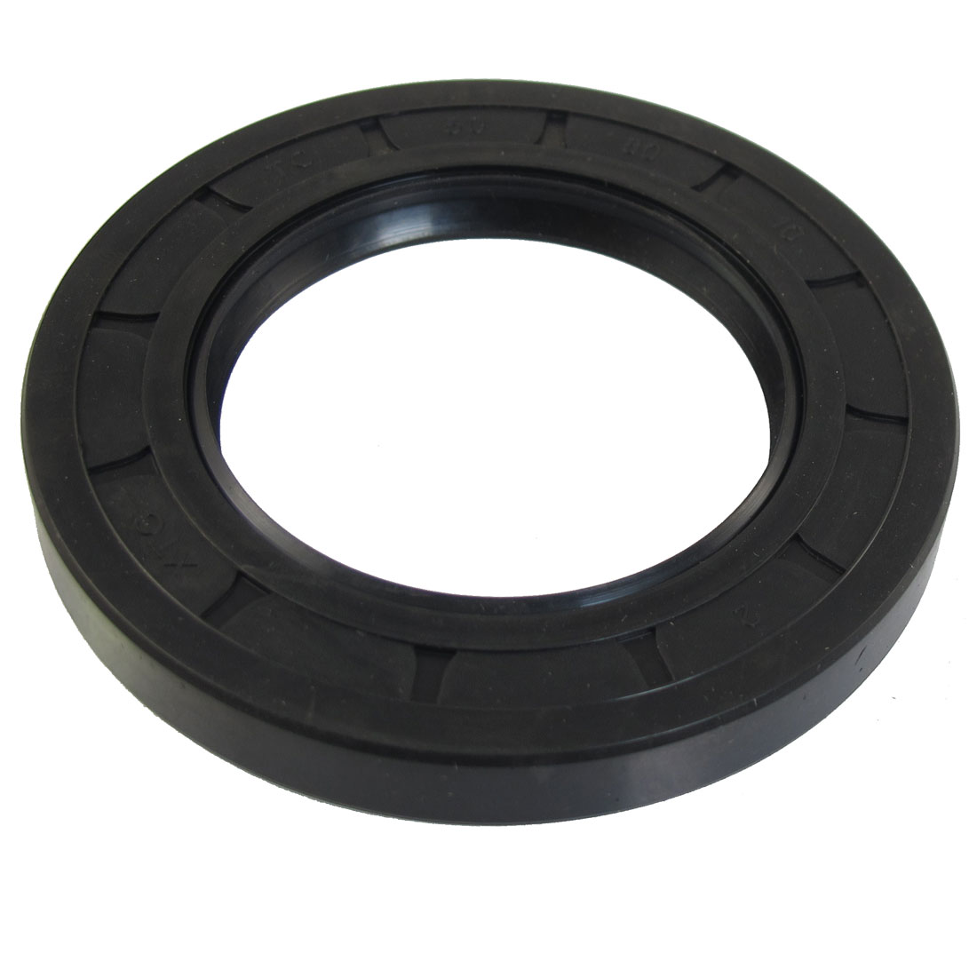 Black Nitrile Rubber Dual Lips Oil Shaft Seal TC 50mm x 80mm x 10mm