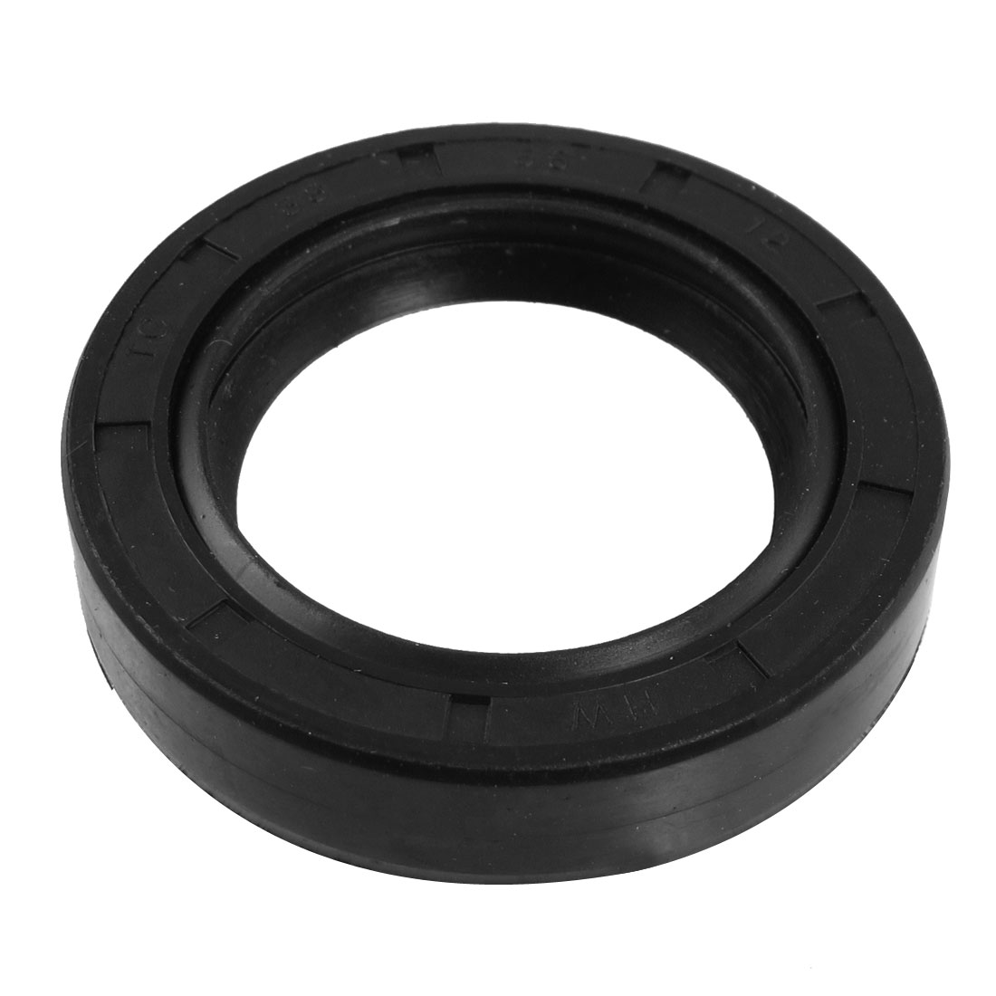 Black Nitrile Rubber Dual Lips Oil Shaft Seal TC 38mm x 56mm x 12mm
