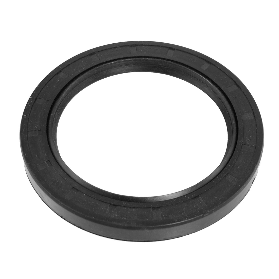 Steel Spring NBR Double Lip TC Oil Seal Black 85mm x 115mm x 12mm
