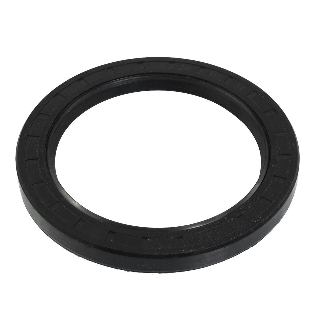 Black Nitrile Rubber Dual Lips Oil Shaft Seal TC 95mm x 125mm x 12mm