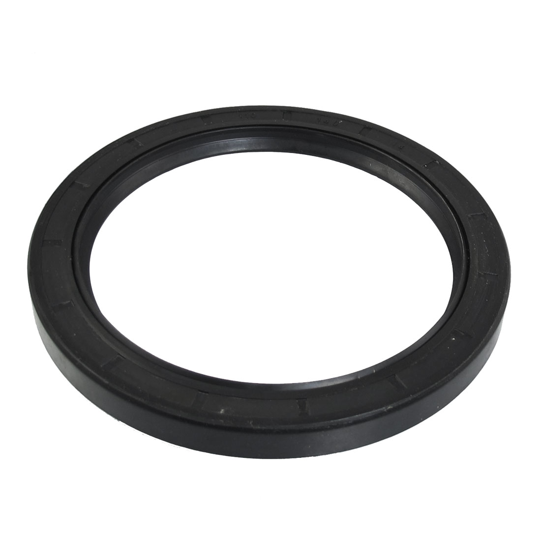 Steel Spring NBR Double Lip TC Oil Seal Black 110mm x 140mm x 14mm