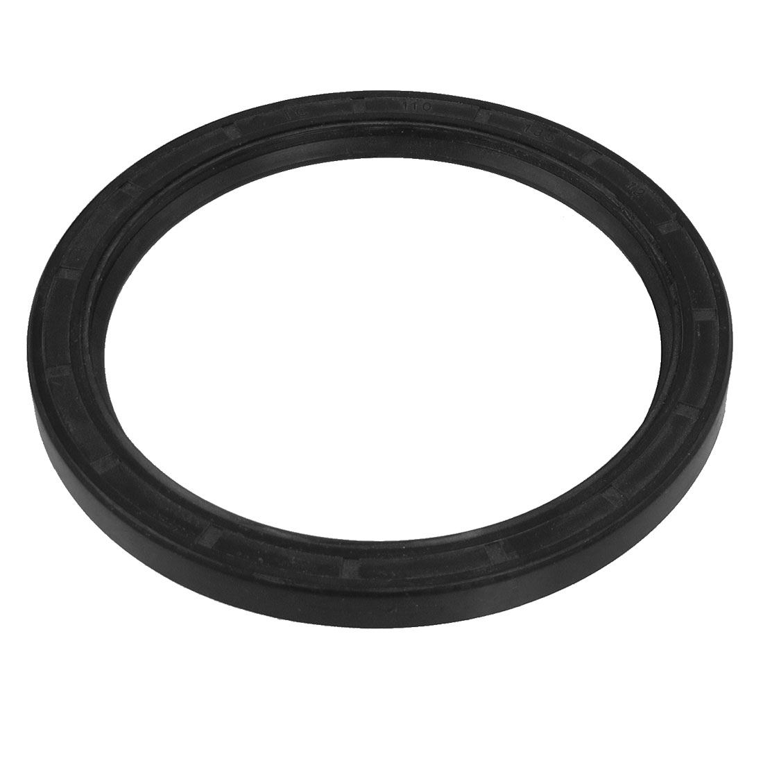 Black Nitrile Rubber Dual Lips Oil Shaft Seal TC 110mm x 135mm x 12mm