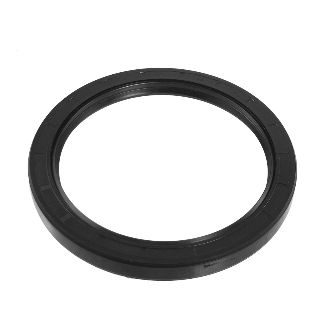 Black Nitrile Rubber Dual Lips Oil Shaft Seal TC 100mm x 125mm x 12mm