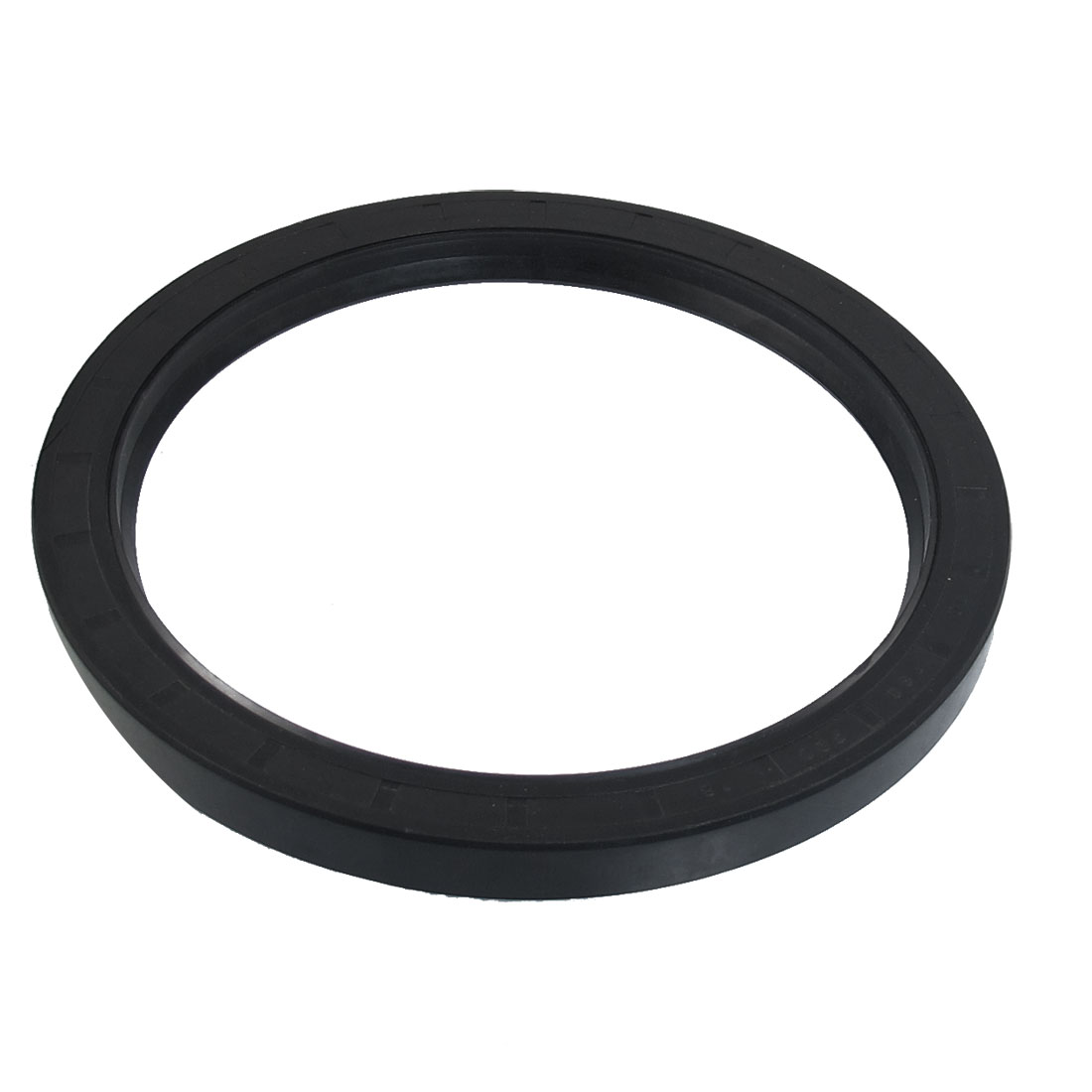 Black Nitrile Rubber Dual Lips Oil Shaft Seal TC 180mm x 220mm x 18mm
