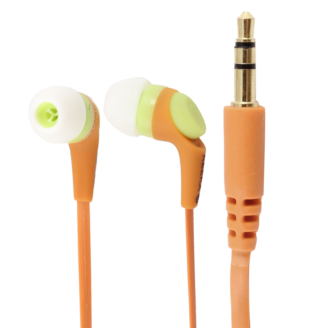 Authorized KEEKA 3.5mm Orange In Ear Headphone Earphone Headset 1M