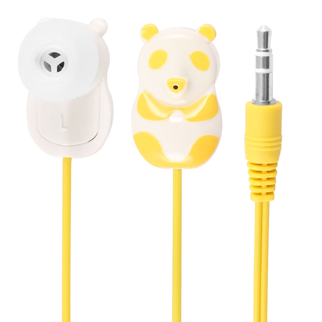 Yellow Panda 3.5mm In Ear Stereo Headphone Earphone 1.1M for Phone