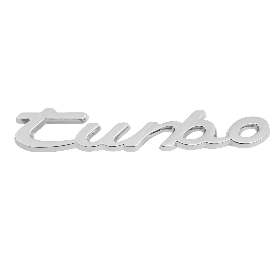 Car Truck Vehicle Front Grill 3D Badge Emblem Decoration Silver Tone