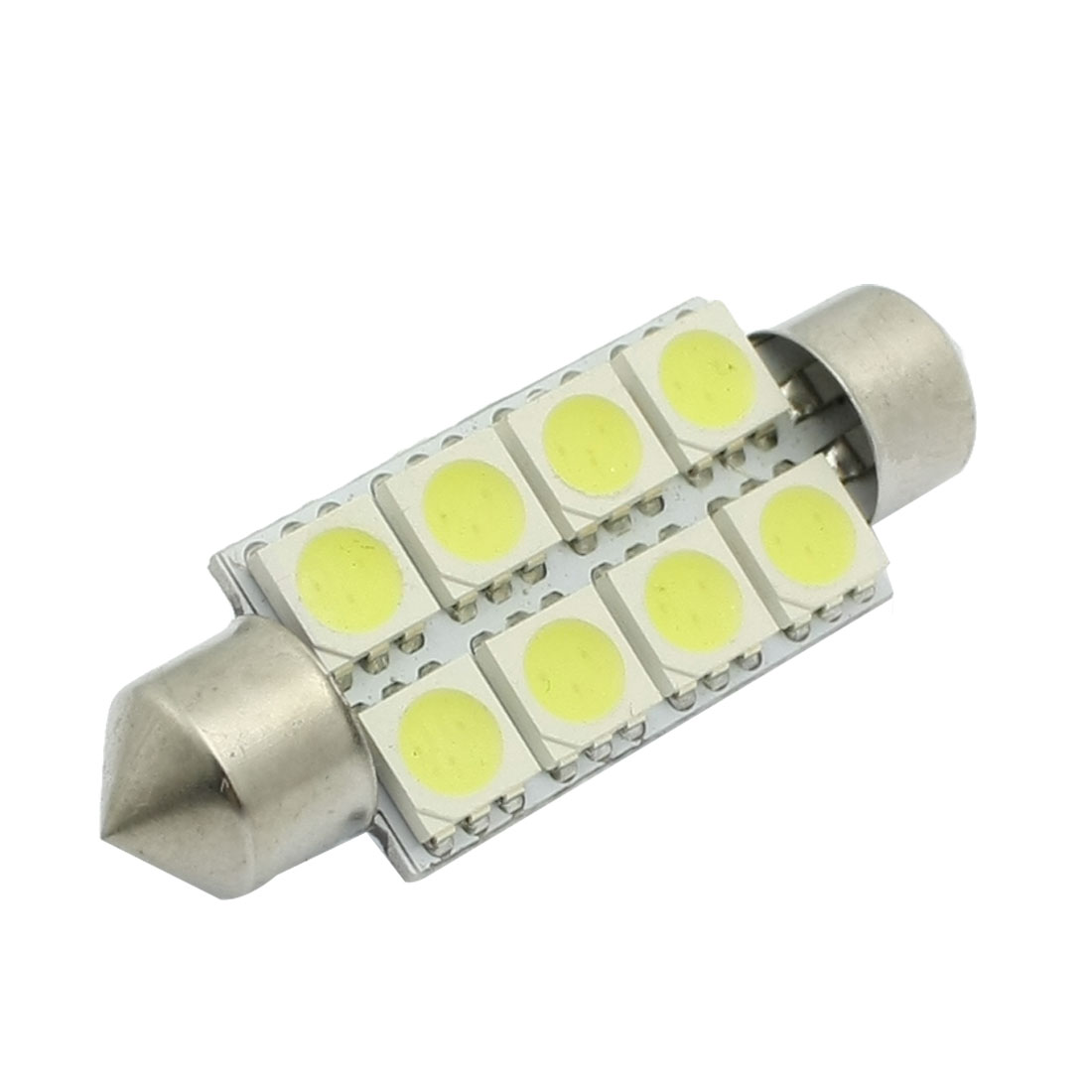 41mm 5050 8 SMD LED Festoon Interior Dome Map Light Lamp for Car