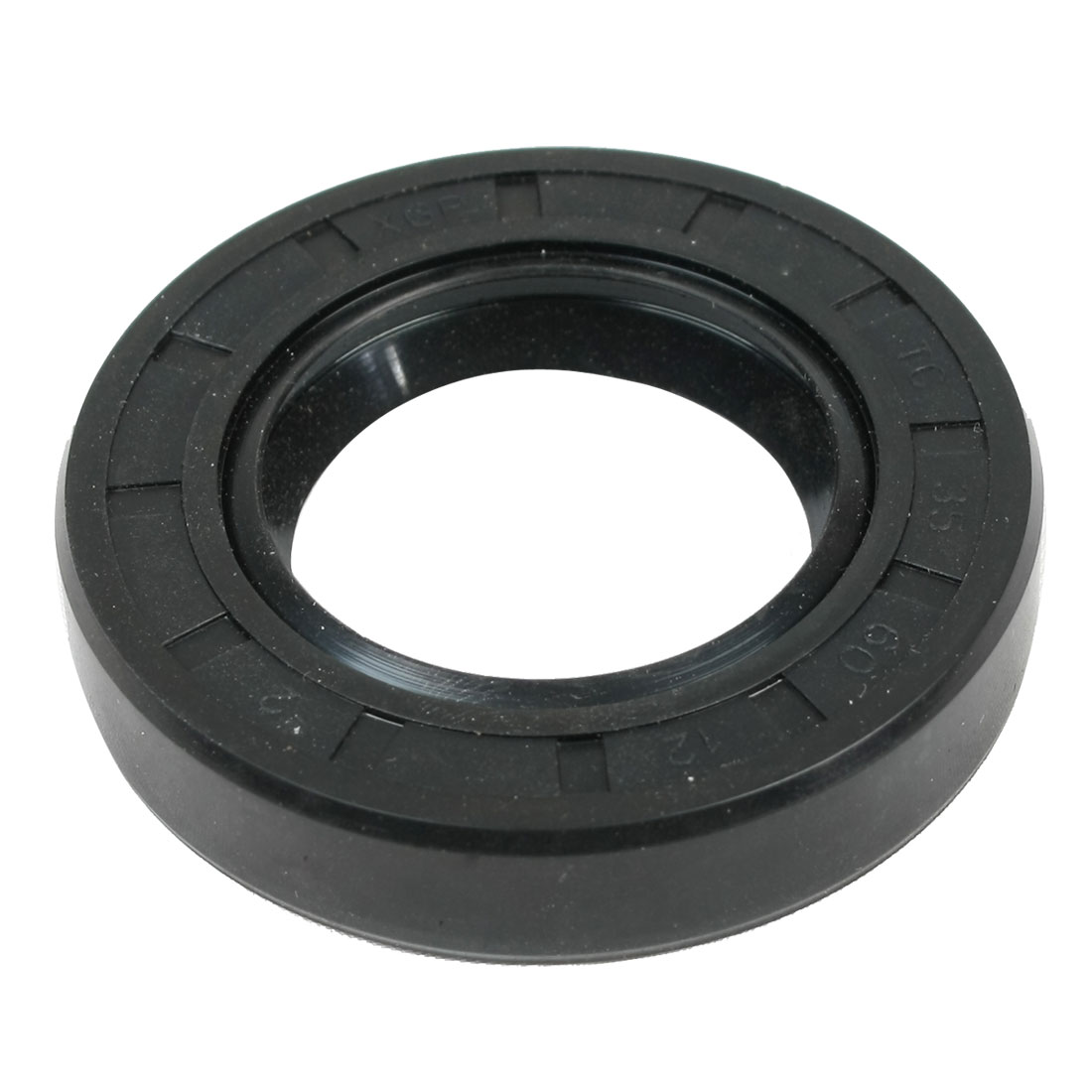 Automobile Pneumatic Seal Rubber Air Sealing Ring Black 35mm x 60mm x 12mm