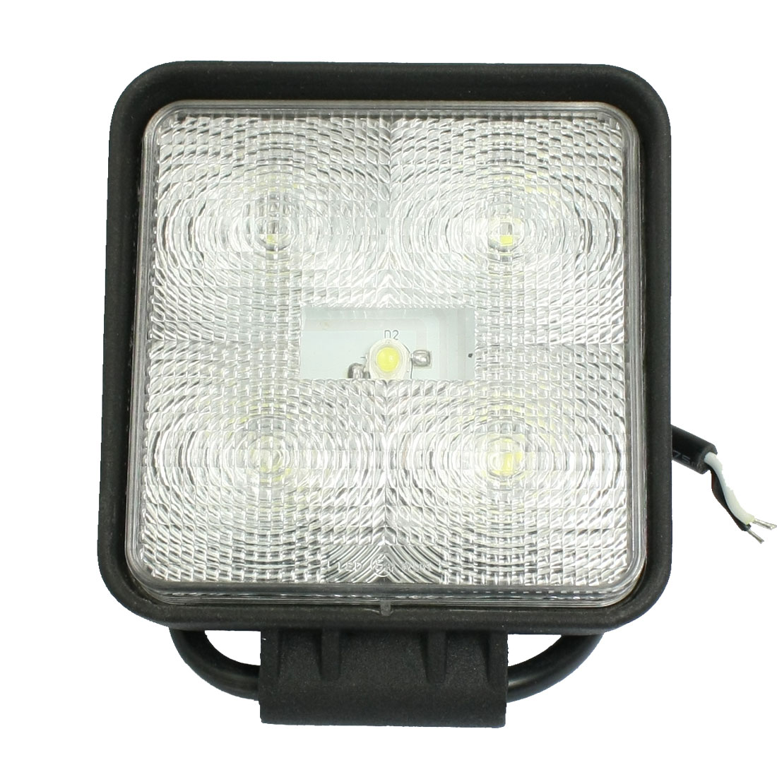 Car Vehicle Square Shaped White Work Light Spotlight DC 12V 15W