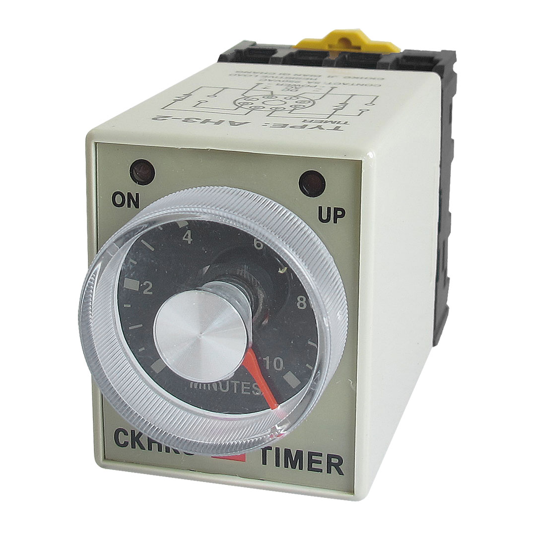 AH3-2 AC 220V 8 Pins 0-10 Minutes 10Min Power on Delay Timer Time Relay w Socket