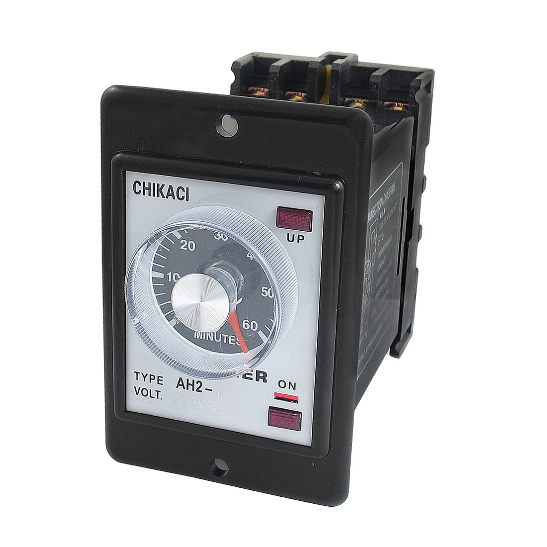 AH2-Y AC 220V 8-Pin DPDT 0-60 Minutes Power on Delay Timer Time Relay w Socket