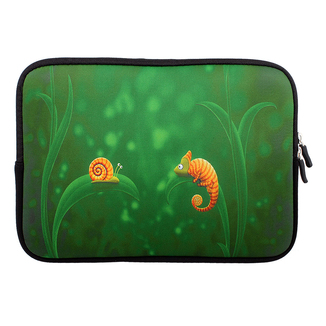 "Snail Print 10"" 10.1"" 10.2"" Neoprene Notebook Laptop Sleeve Bag Case"