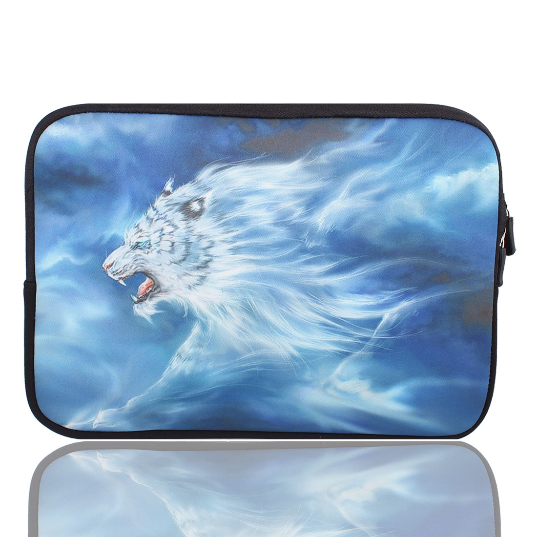 "Wolf Print 10"" 10.1"" 10.2"" Neoprene Notebook Laptop Sleeve Bag Case"