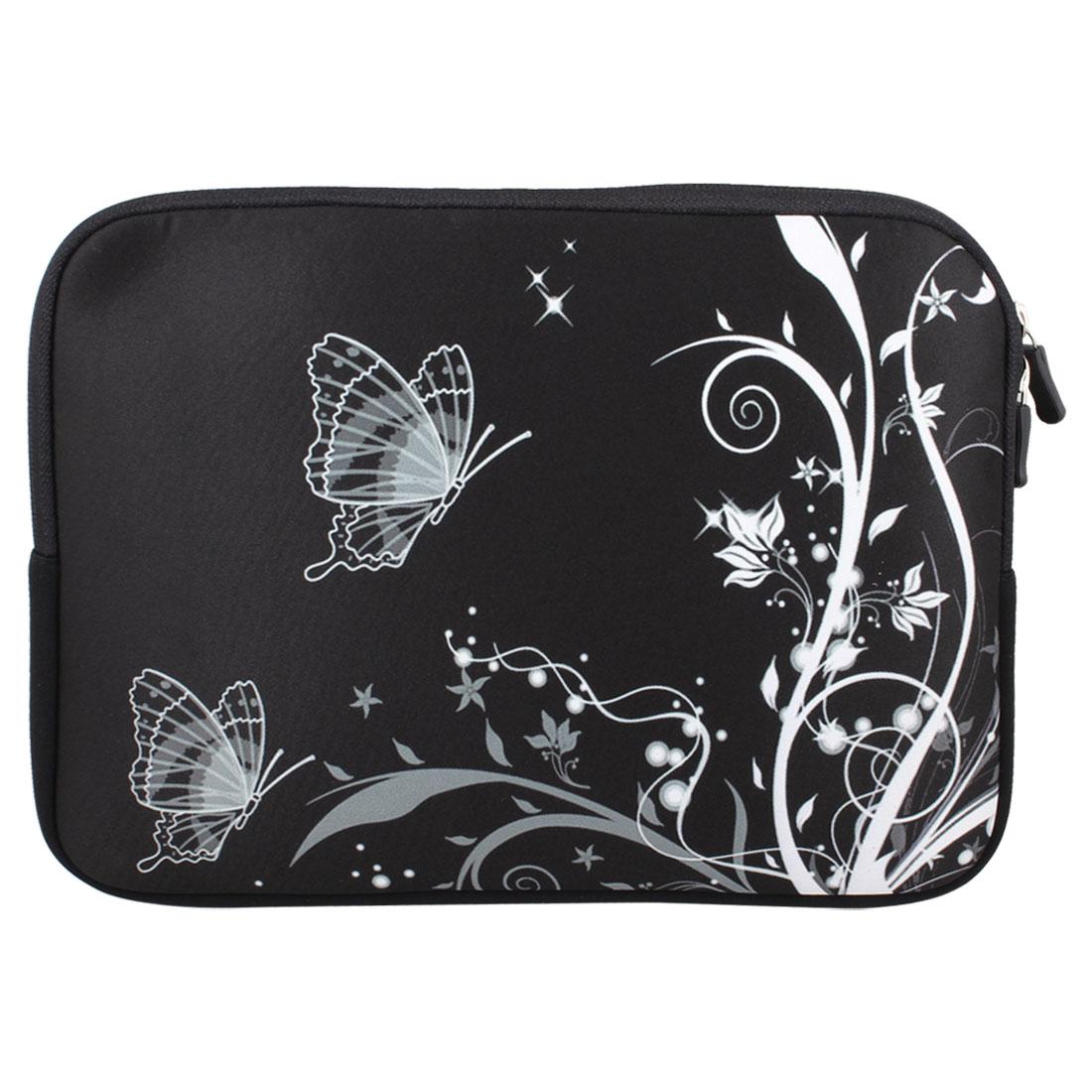 "Butterfly 10"" 10.1"" 10.2"" Neoprene Notebook Laptop Sleeve Bag Case"