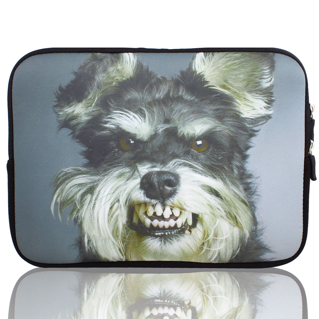 "Dog Print 10"" 10.1"" 10.2"" Neoprene Notebook Laptop Sleeve Bag Case"