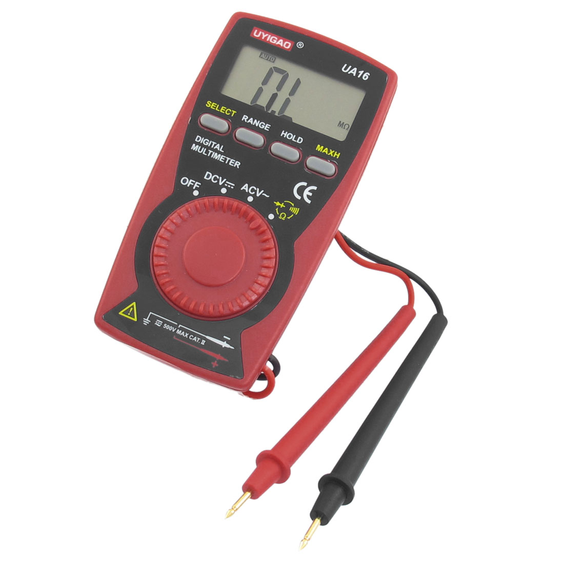UA16 LCD Display 5 Fuction Miniature Digital Multimeter Tester Tool