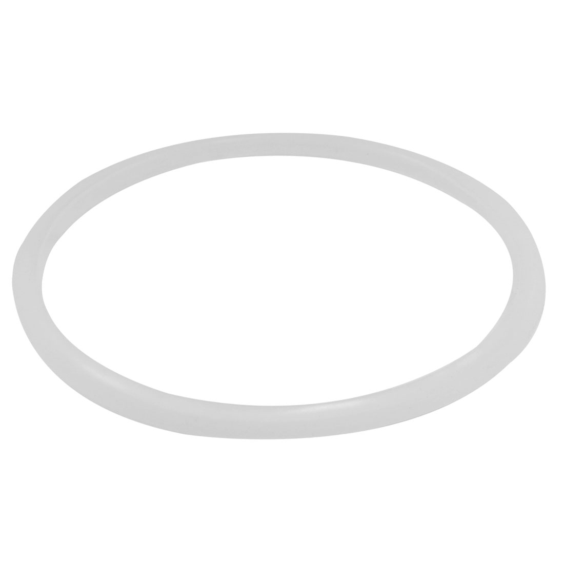 Kitchen Rubber Pressure Cooker Seal Sealing Ring Clear White 18cmx20cm