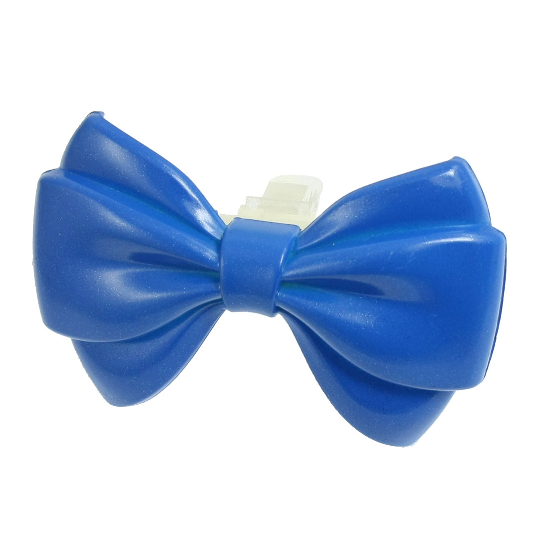 Blue Bowtie Shape Auto Car Air Vent Perfumed Freshener
