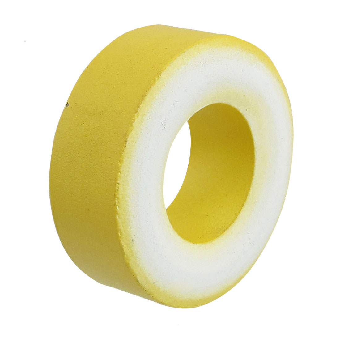 47mm x 24mm x 18mm Yellow White Iron Core Power Inductor Ferrite Ring