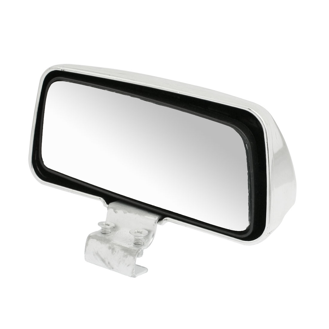 Vehicle Truck Car Adjustable Rear View Blind Spot Mirror Silver Tone