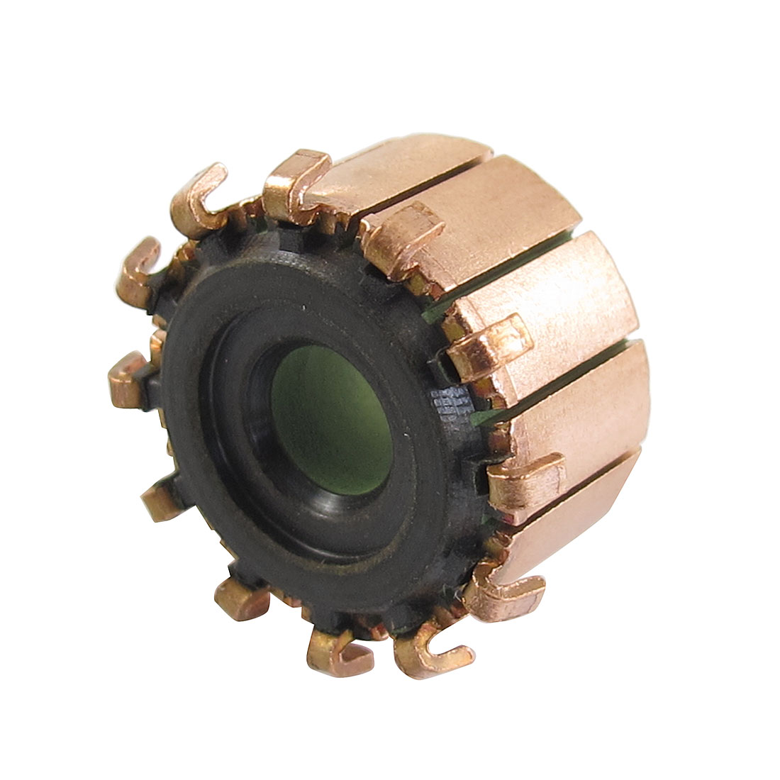 6.35mm x 18.9mm x 11.7mm 12P Copper Bars Alternator Electric Motor Commutator