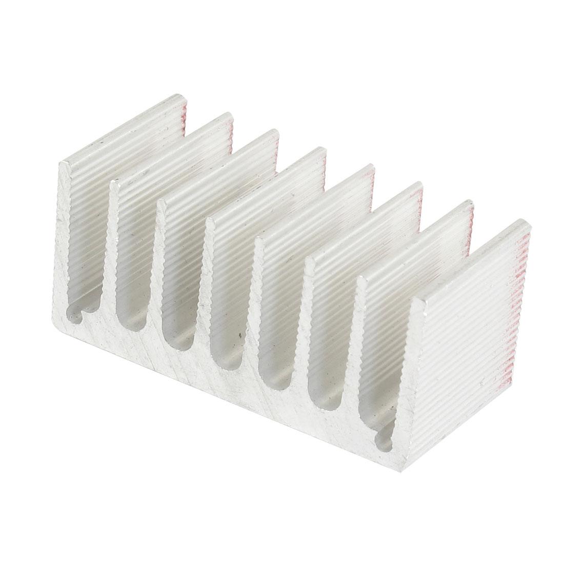 50mm x 24mm x 23mm Heatsink Heat Diffuse Aluminium Cooling Fin