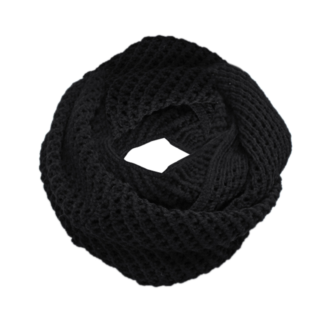 Winter Black New Fashion Easy Matching Circle Scarf For Women Men
