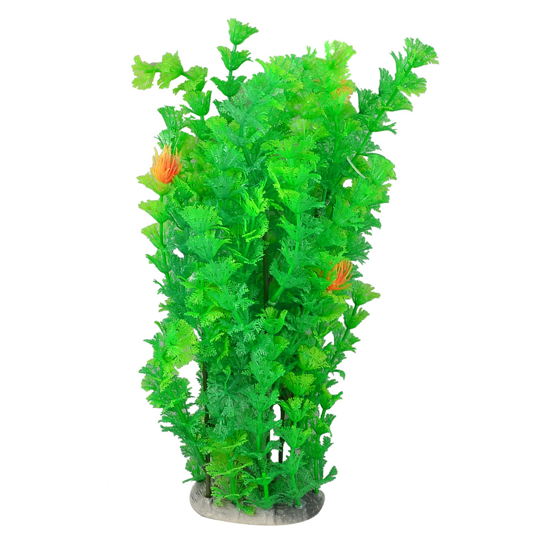 "11.4"" Decorative Plastic Water Plants Grass Green for Aquarium Fish Tank"