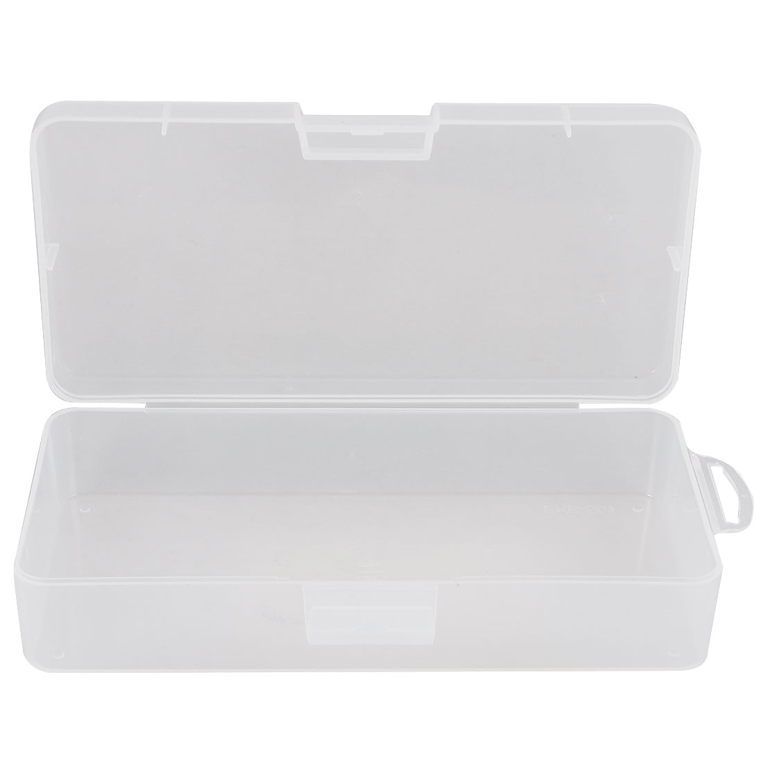 Clear Plastic Jewelry Rectangle Case Box Holder Container 18cm x 8.5cm x 4.5cm