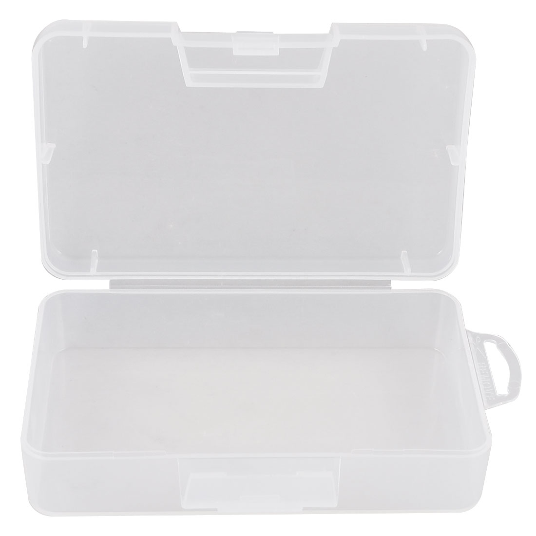 Clear Plastic Jewelry Rectangle Case Box Holder Container 14.5cm x 9cm x 4cm