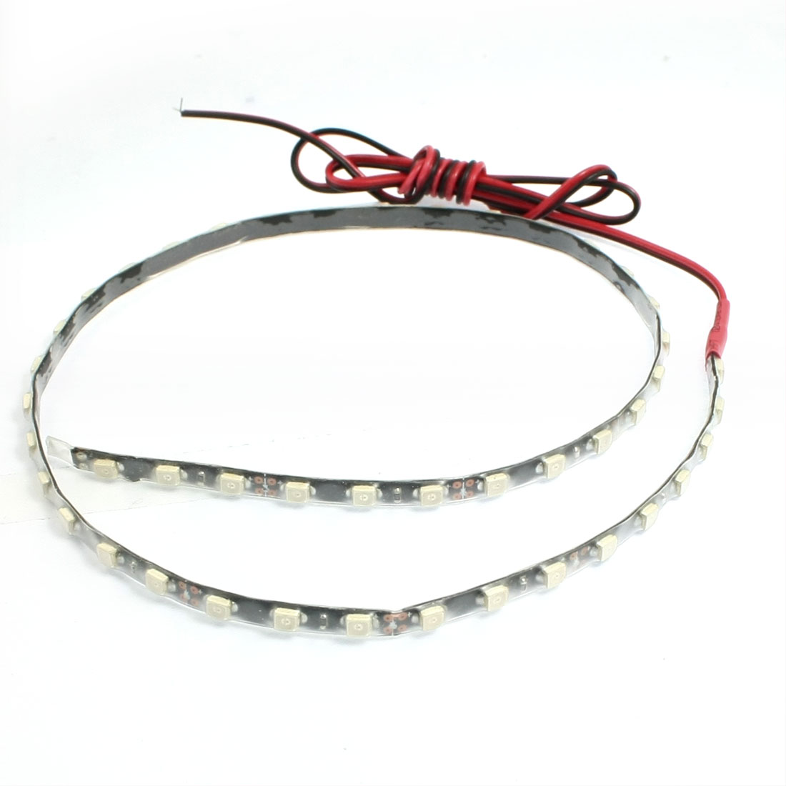Car Truck Adhesive 45 LED 1210 SMD Decorative Flexible Light Strip Red 45cm