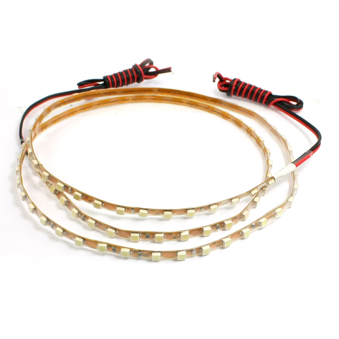 Car Truck 90 LED 1210 3528 SMD Decorative Flexible Light Strip Bar White 90cm